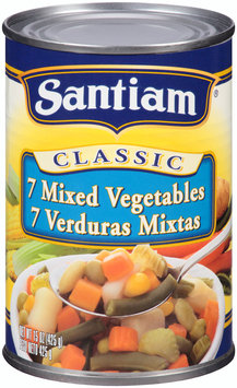 Santiam® Classic 7 Mixed Vegetables 15 oz. Can