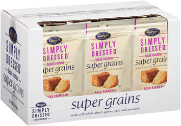 Marzetti® Simply Dressed™ Aged Parmesan Super Grains Baked Croutons 4 oz. Pouch