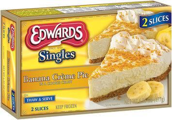Edwards® Singles Banana Creme Pie 6.25 oz. Box