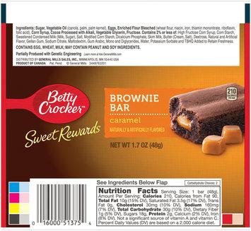 Betty Crocker™ Sweet Rewards Caramel Brownie Bar 1.7 oz. Pack