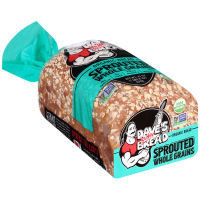 Dave's Killer Bread® Sprouted Whole Grains Organic Bread 22 oz. Bag