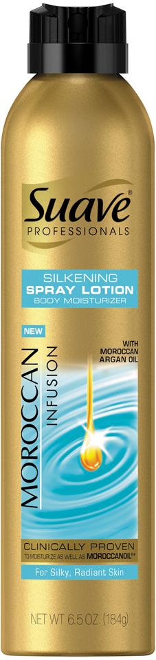 Suave® Professionals Moroccan Infusion Spray Lotion 6.5 oz. Aerosol Can
