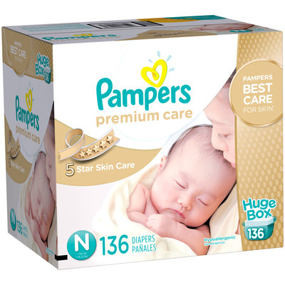 Pampers® Premium Care™ Newborn Diapers Size N