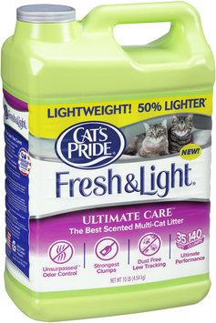 Cat's Pride® Fresh & Light® Ultimate Care™ Scented Multi-Cat Litter 10 lb Jug