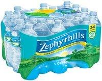 ZEPHYRHILLS Brand 100% Natural Spring Water, 16.9-ounce plastic bottles (Pack of 24)