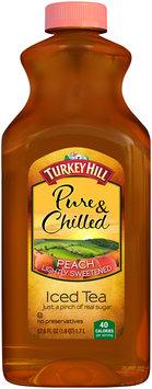 Turkey Hill® SunBrew Lightly Sweetened Peach Iced Tea 57.6 fl. oz. Bottle