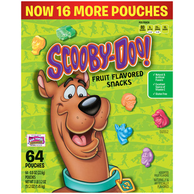 Betty Crocker® Scooby-Doo!™ Fruit Flavored Snacks