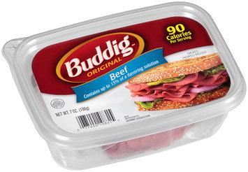 Buddig™ Original Beef 7 oz. Tub