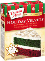 Duncan Hines® Holiday Velvets™ Cake Mixes 17.6 oz. Box