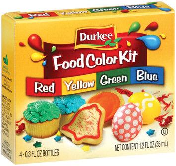 Durkee  Food Color Kit 4 Ct Box