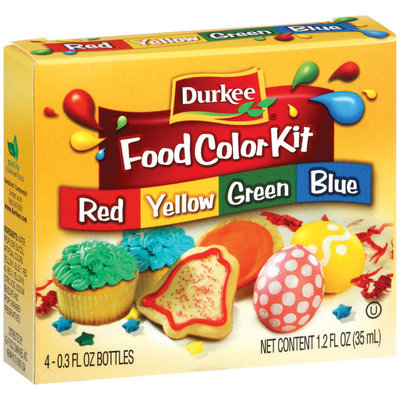 Durkee  Food Color Kit 4 Ct Box