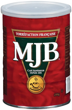 MJB French Roast Canadian Coffee 250 G Canister