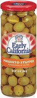 EARLY CALIFORNIA Pimiento Stuffed Manzanilla Olives