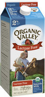 Organic Valley® Lactose Free 2% Reduced Fat Organic Milk .5 gal. Carton