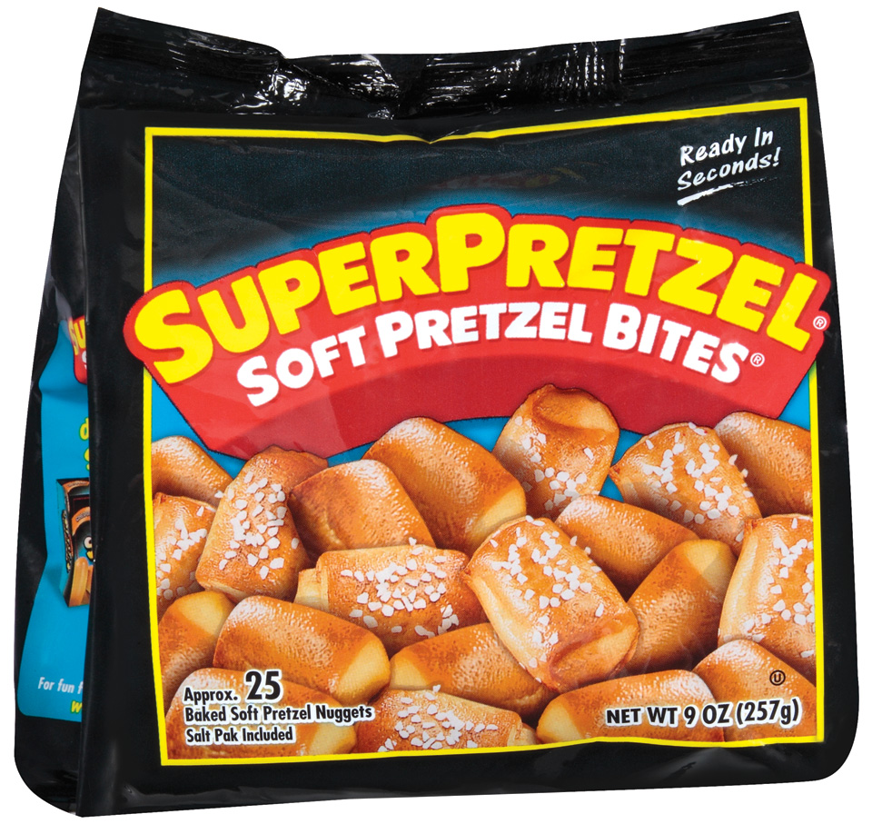 SuperPretzel Soft Approx 25 Nuggets Pretzel Bites