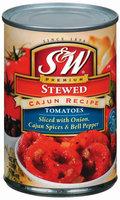 S&W® Stewed Cajun Recipe Tomatoes 14.5 oz. Can