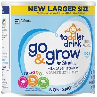Similac Go & Grow™ OptiGRO™ Non-GMO Toddler Drink 1.5 lb. Canister