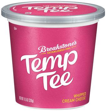 Breakstone's Temp Tee Temp Tee Whipped Cream Cheese 11.5 oz. Tub