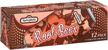 Springfield Root Beer 12 Oz. Cans Soft Drink 12 Pk Carton