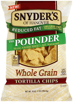 Snyder's Of Hanover The Pounder Whole Grain Tortilla Chips