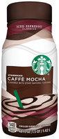 Starbucks Caffe Mocha Iced Espresso Beverage
