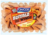 On-Cor® Breaded & Cooked Buffalo Style Boneless Chicken Wyngz 24 oz. Bag