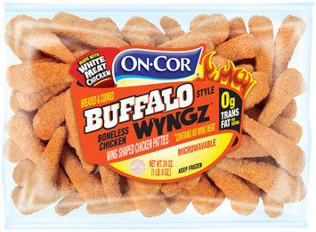 on-cor® breaded & cooked buffalo style boneless chicken wyngz
