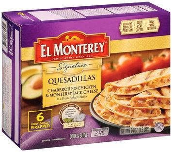 El Monterey® Signature Quesadillas Charbroiled Chicken & Monterey Jack Cheese