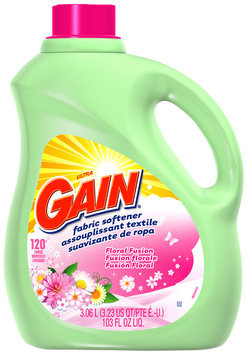 Gain with FreshLock Floral Fusion Liquid Fabric Softener 103 fl. oz. Bottle