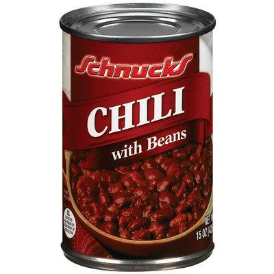 Schnucks W/Beans Chili 15 Oz Can