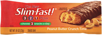 Slim-Fast 3-2-1 Snack Bars Peanut Butter Crunch Time Snack Bar .81 Oz Wrapper