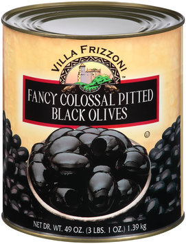 Villa Frizzoni™ Fancy Colossal Pitted Black Olives 49 oz. Can