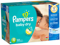Pampers Baby Dry Olympics Size 4  Diapers 144 ct Box