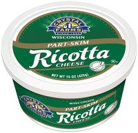 Crystal Farms® Part-Skim Ricotta Cheese 15 oz. Tub