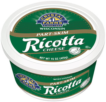 Crystal Farms® Part-Skim Ricotta Cheese 15 oz. Tub