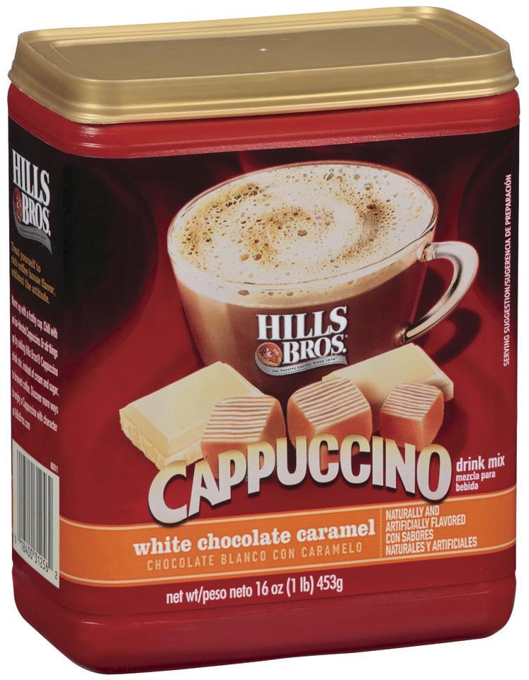 Hills Bros White Chocolate Caramel Cappuccino