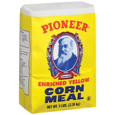 Pioneer Brand Enriched Yellow Corn Meal 5 Lb Stand Up Bag