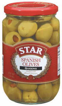 Star Queens Spanish Olives 16 Oz Jar