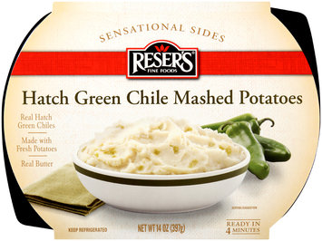 Reser's Fine Foods® Sensation Sides Hatch Green Chile Mashed Potatoes 14 oz. Tray