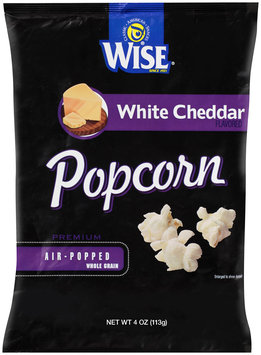 Wise Air Popped Whole Grain White Cheddar Popcorn