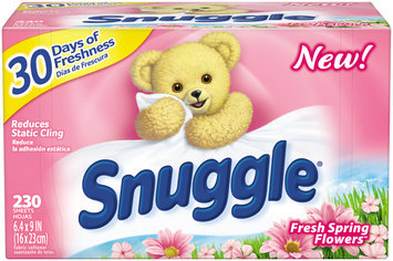 Snuggle® Fresh Spring Flowers™ Fabric Softener Dryer Sheets 230 ct Box