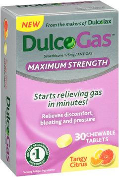 DulcoGas™ Maximum Strength Tangy Citrus 30 count
