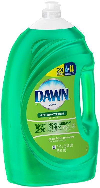 Dawn® Ultra Dishwashing Liquid Antibacterial Apple Blossom™ 75 fl oz