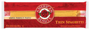 American Beauty  Thin Spaghetti  32 Oz Bag