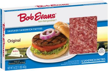 Bob Evans® Original Pork Sausage Sandwich Patties 16 oz. Box