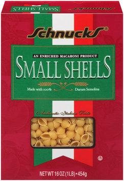 Schnucks® Small Shells Pasta 16 oz. Box