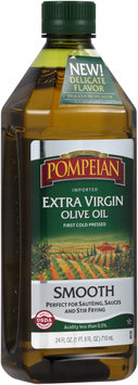 Pompeian® Imported Smooth Extra Virgin Olive Oil 24 fl. oz. Bottle