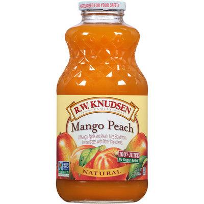 R.W. Knudsen Family® Mango Peach Juice Blend 32 fl. oz. Bottle