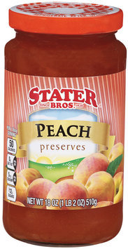 Stater Bros.® Peach Preserves 18 oz.