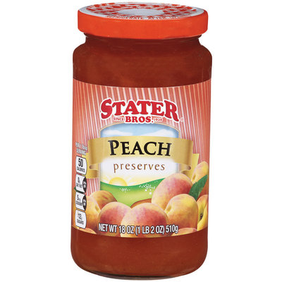 Stater Bros.® Peach Preserves 18 oz.